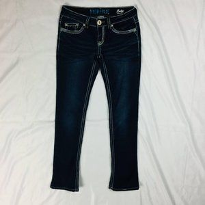 Hydraulic Jeans - Hydraulic Womens Bailey Micro Boot Jeans Size 3/4